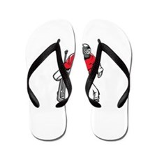 Cute Hockey Flip Flops