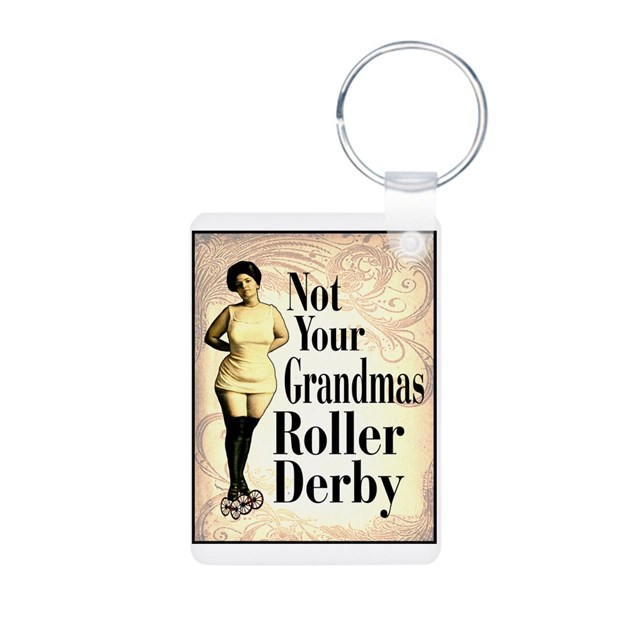 This Is Not Your Grandma S Chandelier: Not Your Grandmas Roller Derby Keychains By Bizabiz