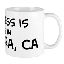 Happiness is La Habra Small Mug