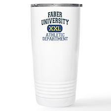 Faber University Athletic Department Travel Mug