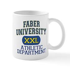 Faber University Athletic Department Mug