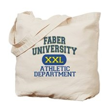 Faber University Athletic Department Tote Bag