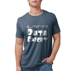 Triathlon Abst Organic Men's Fitted T-Shirt (dark)