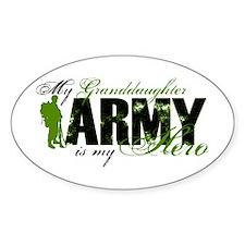 Granddaughter Hero3 - ARMY Decal