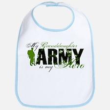 Granddaughter Hero3 - ARMY Bib