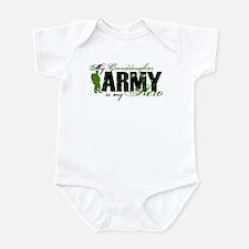Granddaughter Hero3 - ARMY Infant Bodysuit