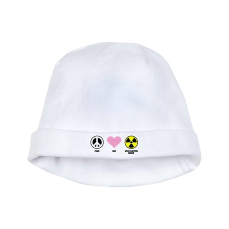 Bitch Slapping Cancer baby hat