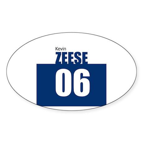 Zeese 06 Oval Sticker