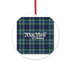 Tartan - MacNeil of Colonsay Ornament (Round)