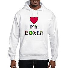 LOVE MY BOXER Hoodie