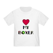 LOVE MY BOXER T