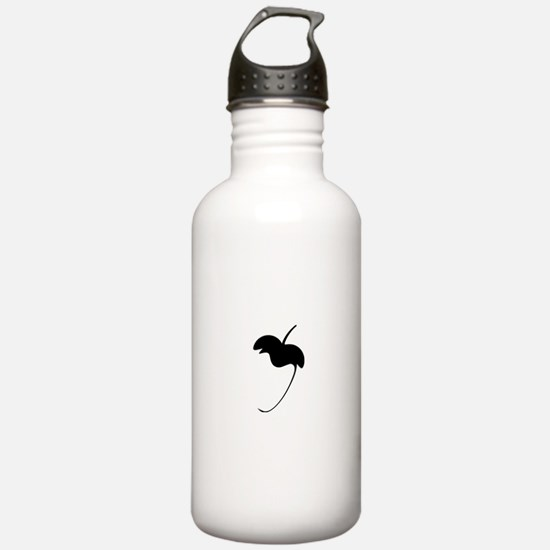 FL Logo Flat Water Bottle