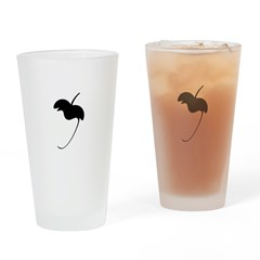 FL Logo Flat Drinking Glass