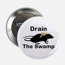 "Drain The Swamp 2.25"" Button"