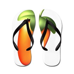 FL Logo Colored Flip Flops