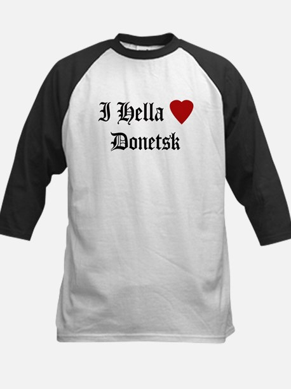 Hella Love Donetsk Kids Baseball Jersey