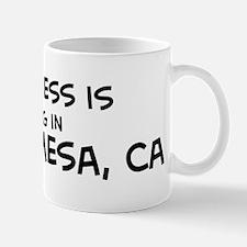 Happiness is Costa Mesa Mug