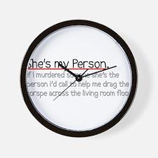 Grey's Anatomy Wall Clock