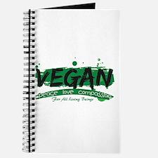 Vegan Peace Love Compassion Journal