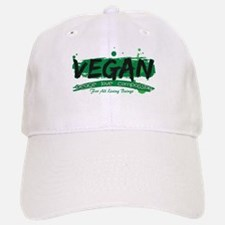 Vegan Peace Love Compassion Baseball Baseball Cap