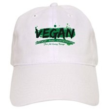 Vegan Peace Love Compassion Baseball Cap