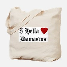Hella Love Damascus Tote Bag