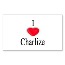 Charlize Rectangle Decal