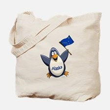 Alaska Penguin Tote Bag