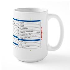 vi Reference Large Mugs