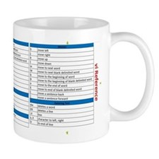 vi Reference Mug