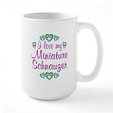 Love My Mini Schnauzer Mug