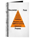 Halloween Food Pyramid Journal