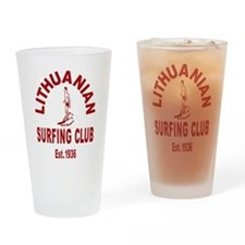Lithuanian Surf Club Drinking Glass