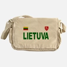 Lietuva Olympic Style Messenger Bag