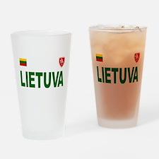 Lietuva Olympic Style Drinking Glass