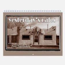 Yesterday's Cafes Wall Calendar