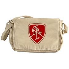 Red Vytis Messenger Bag