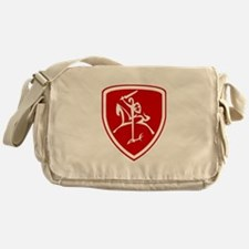 Red Vytis Messenger Bag