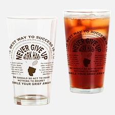 Bootan's badminton Drinking Glass