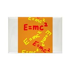 E=mc2 Rectangle Magnet (10 pack)