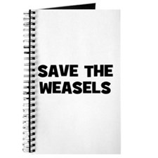 Save The Weasels Journal