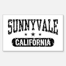 Sunnyvale California Sticker (Rectangle)