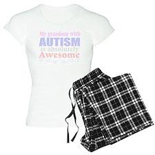 Awesome autism grandson Pajamas