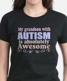 Awesome autism grandson Tee