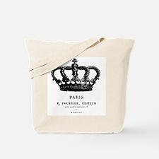 PARIS CROWN Tote Bag