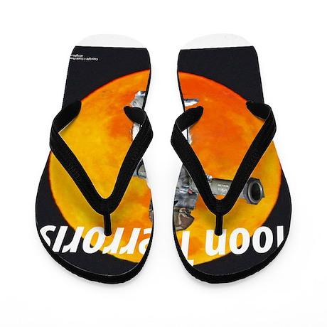 MOON TERRORIST Flip Flops