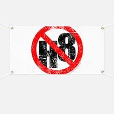 No Hate - < NO H8 > Banner