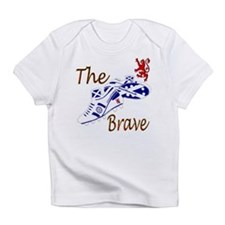 Scottish white football boots Infant T-Shirt