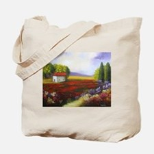 Tuscany Landscape Tote Bag