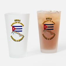 Emblem - Cuba Drinking Glass
